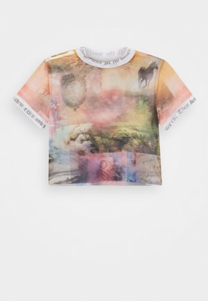 WITH CONTRAST FONT SCENIC PRINT - Print T-shirt - multi