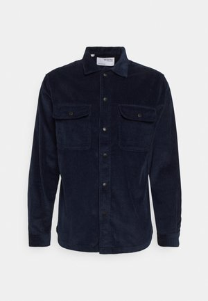 SLHLOOSEDECKER OVERSHIRT - Camicia - navy blazer