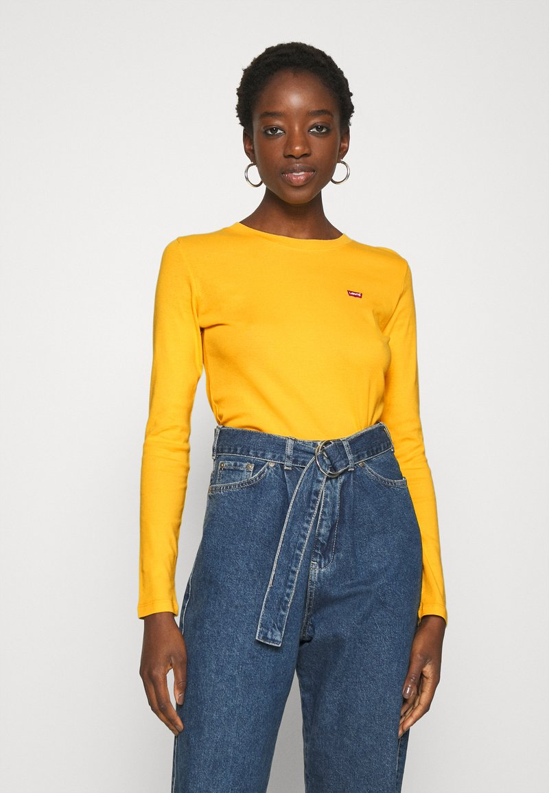 Levi's® - BABY TEE - Long sleeved top - gold coast
