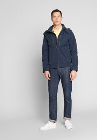 TOM TAILOR - BLOUSON WITH ZIPPERS - Light jacket - sky captain blue - 1