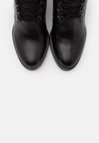 Alberto Zago - Lace-up ankle boots - nero - 5