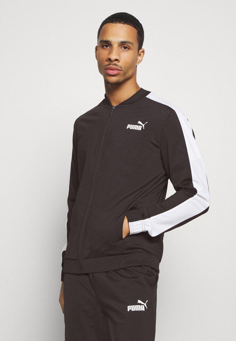 Puma - BASEBALL TRACKSUIT - Trainingsanzug - black