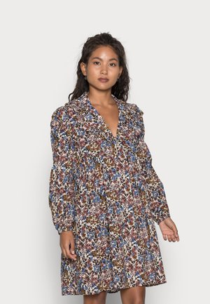 OBJPENELOPE DRESS - Jurk - mazarine blue