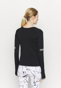 Even&Odd active - SEAMLESS  - Long sleeved top - black - 2