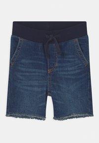 GAP - TODDLER - Denim shorts - dark wash indigo - 0
