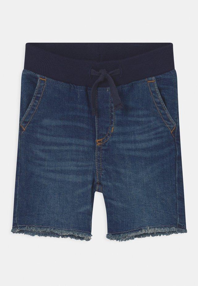 TODDLER - Denim shorts - dark wash indigo
