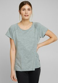Esprit Sports - MIT E-DRY - Sports shirt - dusty green - 0