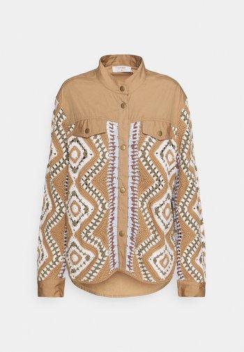 ISOLDE JACKET - Summer jacket - tannin