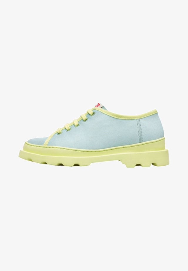 BRUTUS - Chaussures à lacets - green
