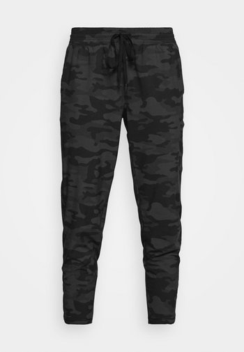 TAPERED PANT - Teplákové kalhoty - black