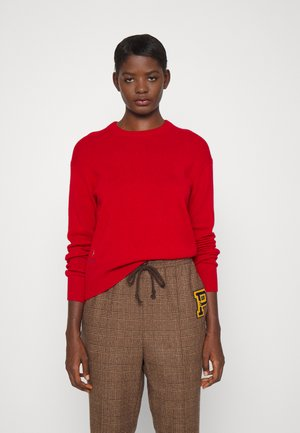 LONG SLEEVE - Sweter - carriage red