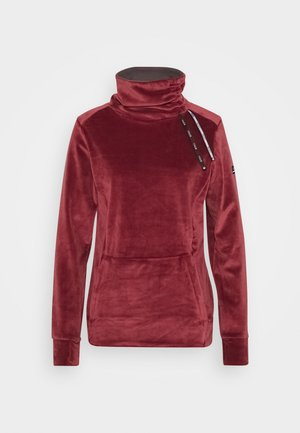 DELTINE  - Fleecepullover - oxblood red