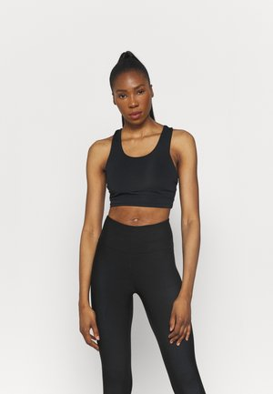 LIFESTYLE LOOP CROSS BACK VESTLETTE - Sport BH - black