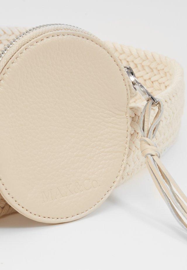 ANFIBIO - Belt - attiliosa white