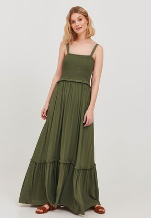 Maxi dress - olivine