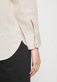 ARKET - Button-down blouse - nature - 3