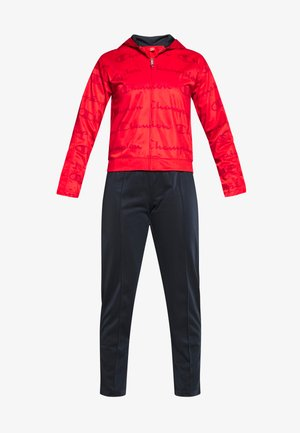 HOODED FULL ZIP SUIT - Survêtement - red