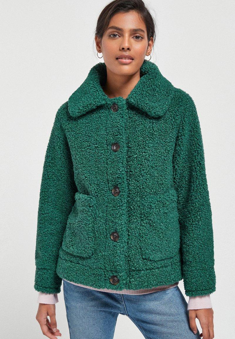 Next - Fleece jacket - green