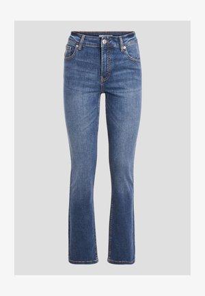 MIT HOHEM BUND - Bootcut jeans - denim dirty