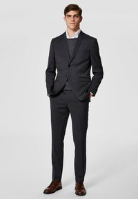 Selected Homme - Anzughose - grey - 1