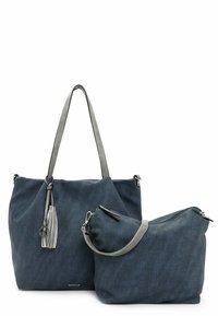 Emily & Noah - ELKE - Shopping bag - blue - 3