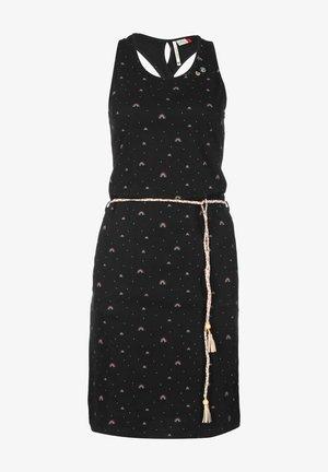 INFINY - Jersey dress - black