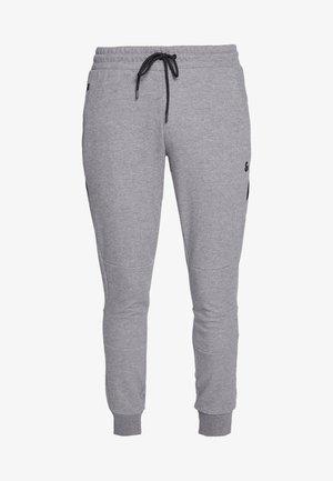 JJIWILL JJCLEAN PANTS - Tracksuit bottoms - grey melange