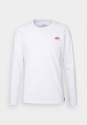 BACK PRINT HEAVY - Topper langermet - white/red