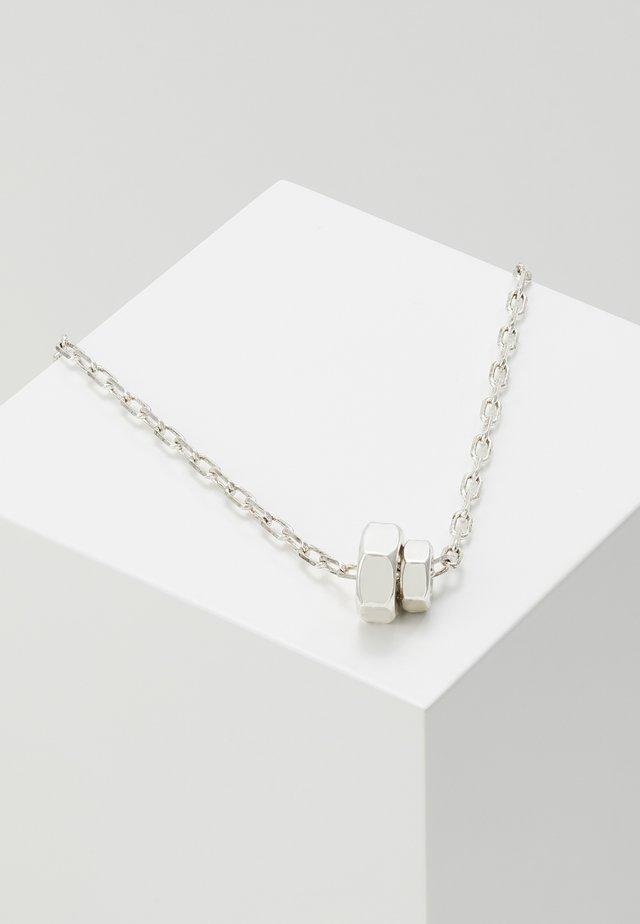 CONVEYOR PENDANT - Necklace - silver-coloured