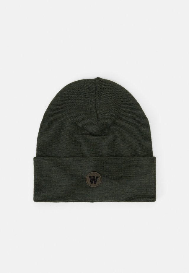 GERALD TALL BEANIE - Berretto - army green