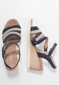 Caprice - Wedge sandals - ocean - 3
