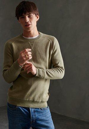 ESSENTIAL COTTON CREW SWEATSHIRT - Sweatshirt - moss grit