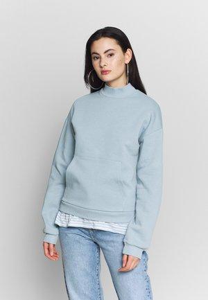 COZY POCKET  - Sweatshirt - blue/gray