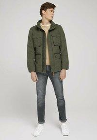 TOM TAILOR - Light jacket - olive night green - 1
