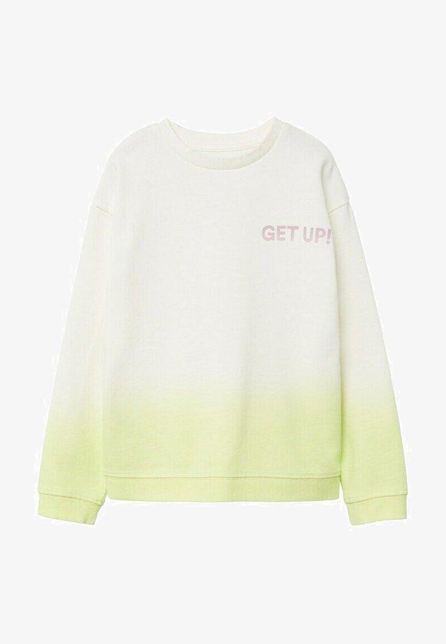 EXTRME - Sweatshirt - limoen