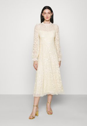 MIRABELLE SEQUIN BALLERINA DRESS EXCLUSIVE - Occasion wear - champagne
