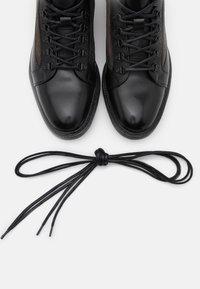 Cordwainer - Lace-up ankle boots - orleans black/venezia piombo - 5
