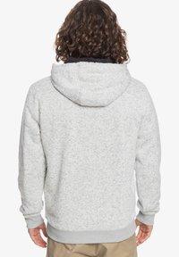 Quiksilver - KELLER - SHERPA-FLEECE MIT REISSVERSCHLUSS UND KAPUZE - Zip-up hoodie - light grey heather - 2