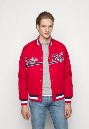 VARSITY - Bomber Jacket - red