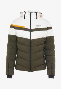 Colmar - Veste de ski - jungle-white/orange pop/jungle - 4