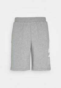 REBEL SHORTS - Sportovní kraťasy - medium gray heather