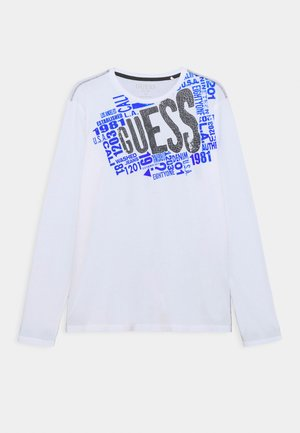 JUNIOR - Langarmshirt - true white