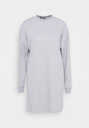 DRESS - Day dress - grey marl