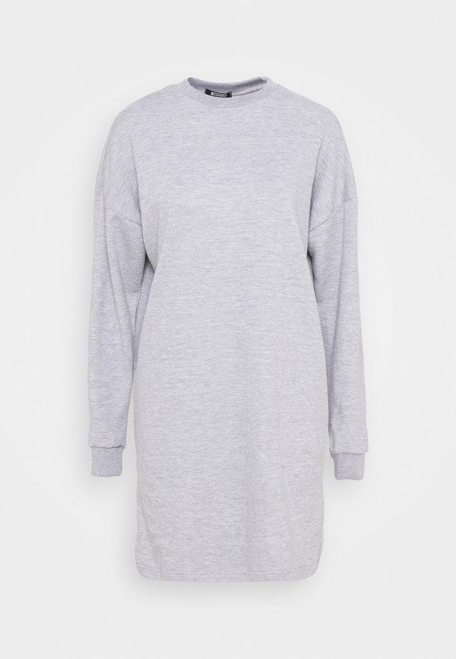 DRESS - Day dress - grey marl
