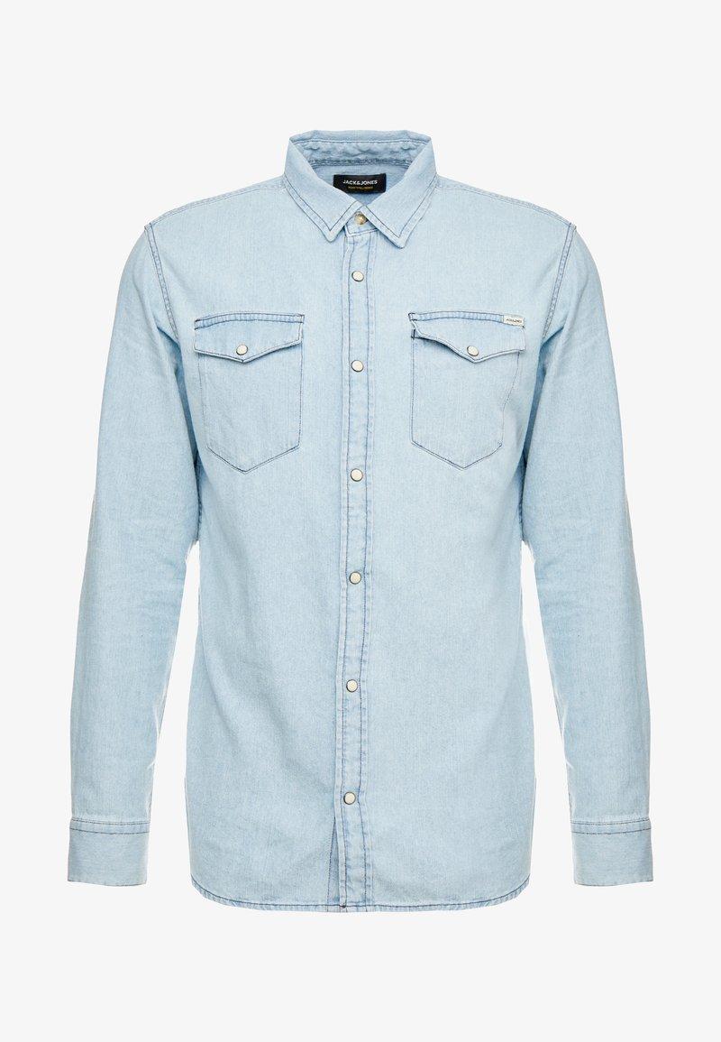 Jack & Jones JJESHERIDAN SLIM - Hemd - medium blue denim/blau wjl1EU
