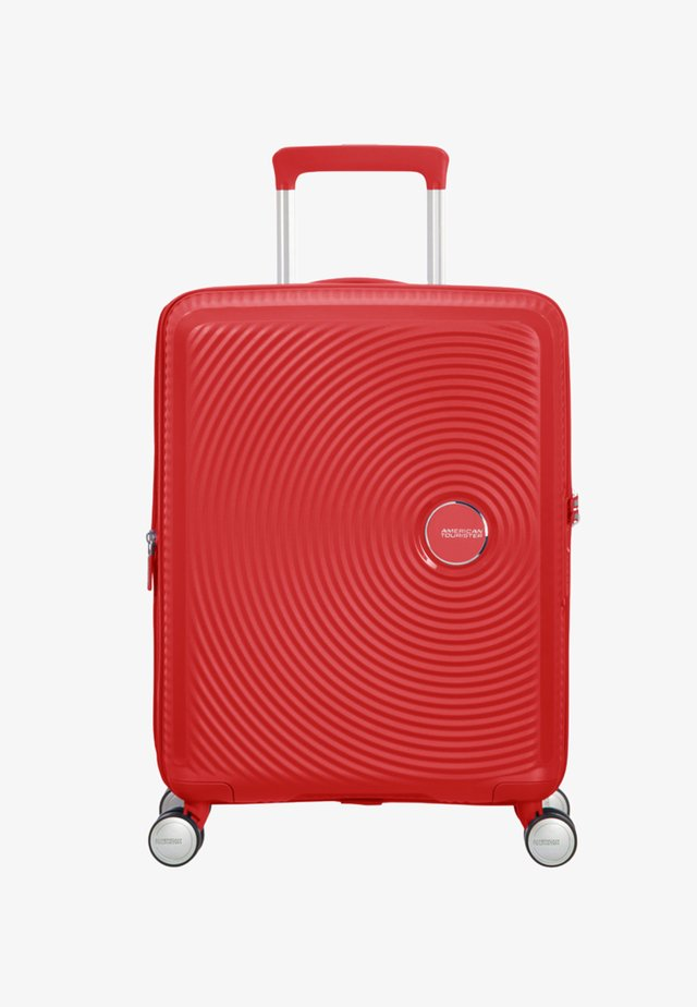 SOUNDBOX - Wheeled suitcase - red