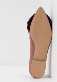 Chatelles - CANDIDE POINTY - Slip-ons - vintage pink/bordeaux - 6