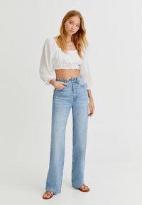 PULL&BEAR - Straight leg jeans - blue - 1