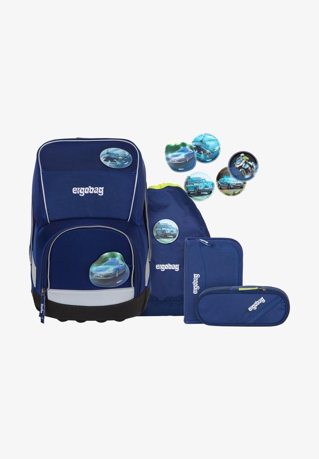 SET 5 PIECES - School set - blue