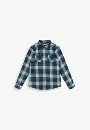 Button-down blouse - forest